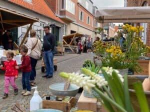 Kunsthåndværkere indtager »Latinerkvarteret« i Ringkøbing